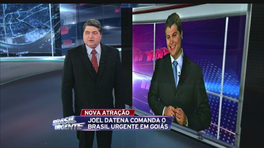 Filho do Datena assume o comando do Brasil Urgente em Goiás / Reprodução/Band