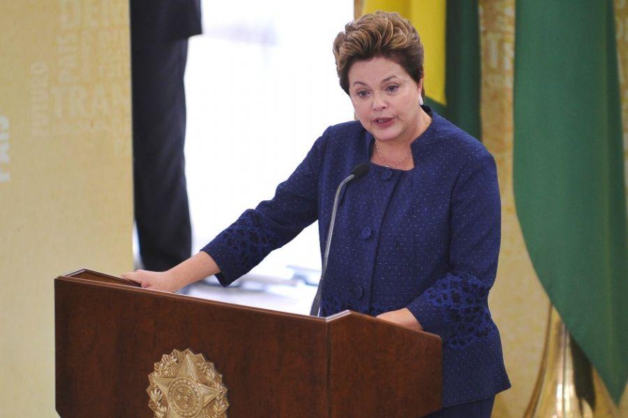 Dilma negou ter falado sobre o assunto com o presidente do STF, Ayres Britto / Antônio Cruz/ABr/ Arquivo