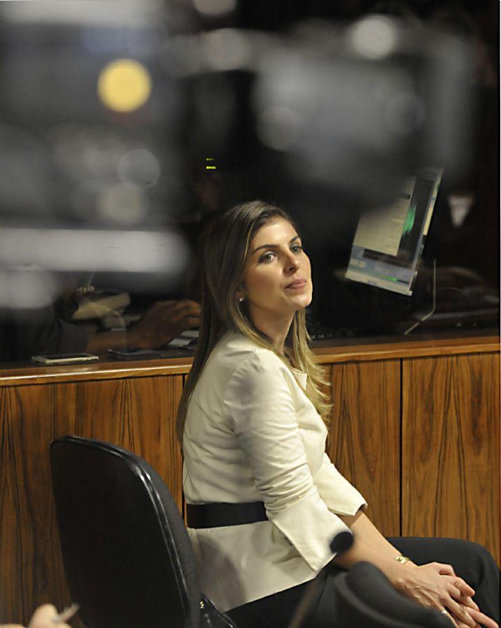 Andresa Mendonça, noiva de Cachoeira, é a musa da vez  / José Cruz/ABr