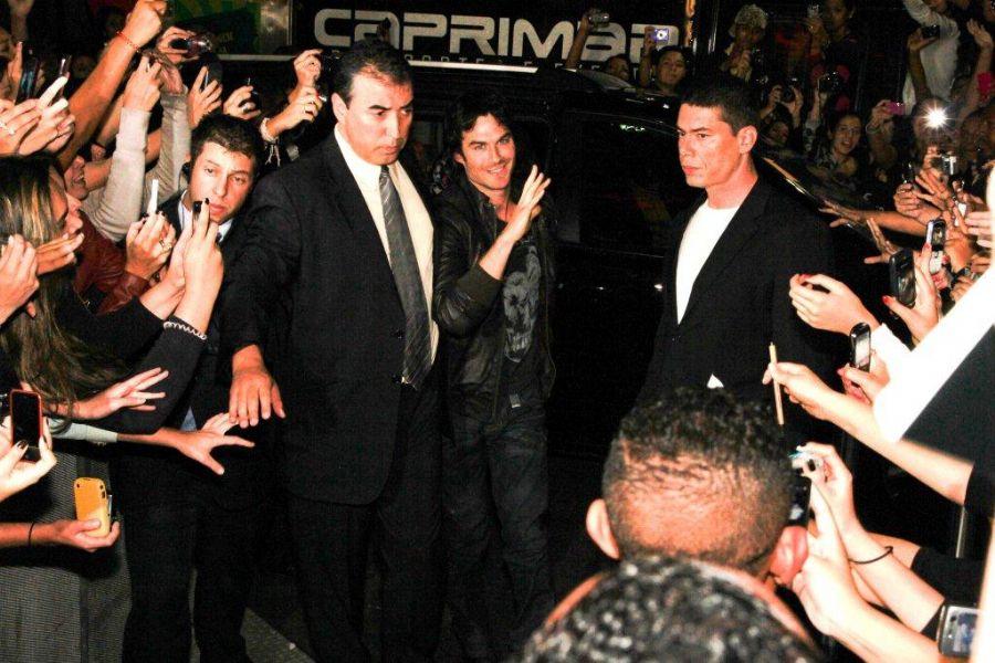 Ian Somerhalder foi muito assediado / Orlando Oliveira e Danilo Carvalho/AgNews