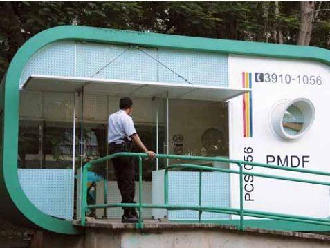 Segurança das unidades militares será garantida por seguranças armados de empresas terceirizadas / Ricardo Marques/ Metro Brasilia