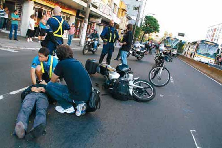 Foram concedidas 149 mil indenizações para vítimas de acidente com moto no primeiro semestre / Gabriela Di Bella/ Metro