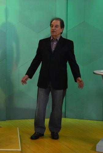 José Carlos Araújo, o Garotinho, comanda as transmissões / Reprodução/Facebook