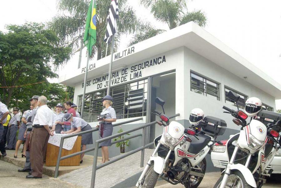 Bases da PM receberão proteção especial após ataques / Sérgio Andrade/ SP Noticias