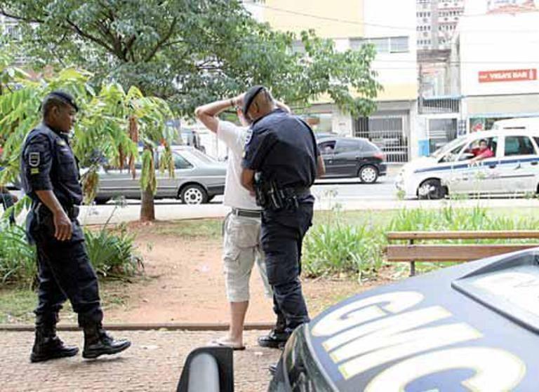 GMs em ação de contenção do crime em Campinas / Thomaz Marostegan / Metro Campinas