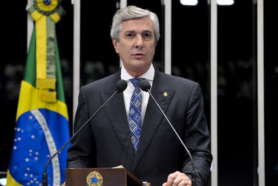 Collor presidiu a Comissão de Infraestrutura pela primeira vez em 2007 e 2008 / Geraldo Magela/ Agência Senado