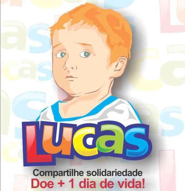 Campanha feita por estudantes universitários ajuda arrecadar verba para o tratamento do menino Lucas / Reprodução