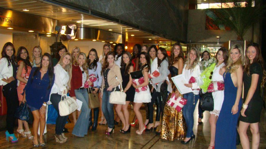 Candidatas a Miss São Paulo são confinados em hotel