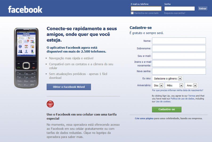 Se a decisão do juiz for mantida, o Facebook deverá interromper o acesso à rede social / Reprodução