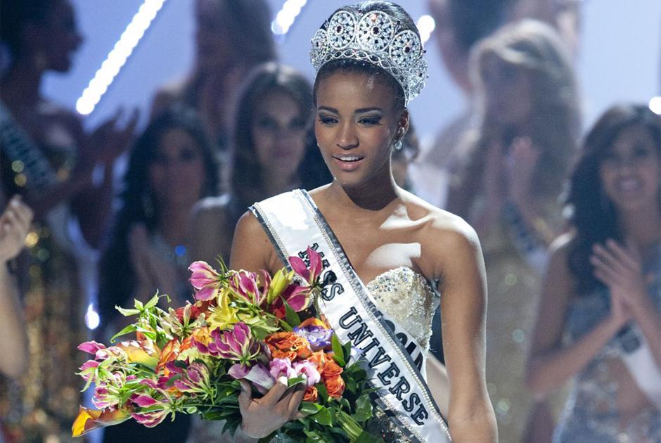 Em 2011, Leila Lopes, da Angola, venceu o concurso.