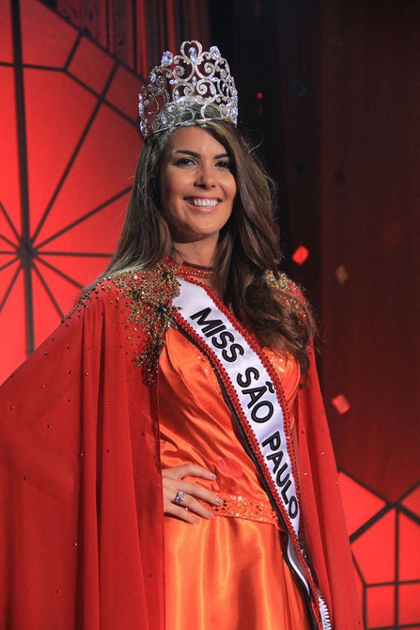 Francine Pantaleão, de Jaú, é eleita Miss SP