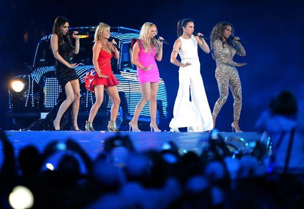 Victoria Beckham explicou a origem do nome Spice Girls  / Jewel Samad/AFP