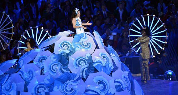 Marisa Monte, festa de encerramento da Olimpíada de Londres