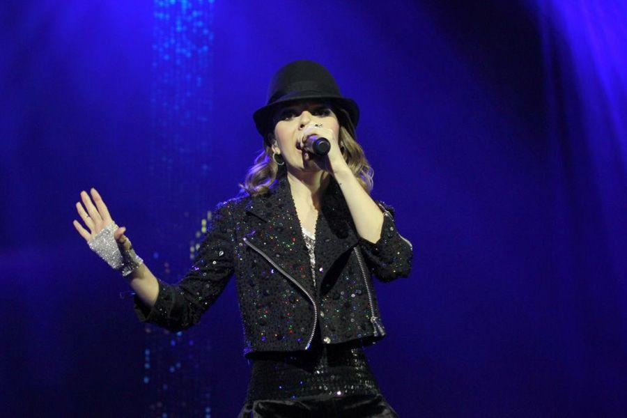 Cantora já abriu show de Jackson no Morumbi / André Muzell e Felipe Panfili/AgNews