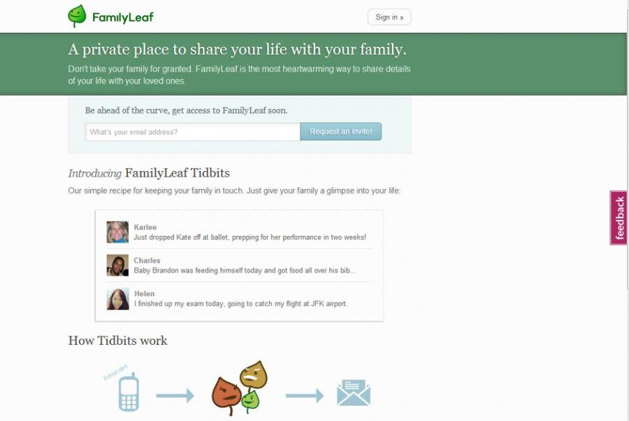 Family Leaf é um exemplo de rede restrita / Reprodução