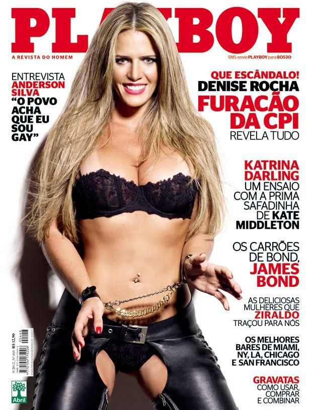 Denise Rocha é destaque da edição de setembro / Divulgação/Playboy