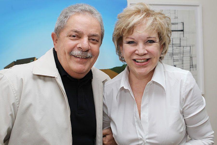 Marta almoçou com o ex-presidente Lula em SP / Divulgação/Instituto Lula