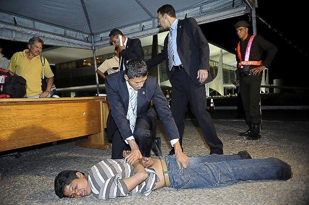 Homem invade Palácio do Planalto