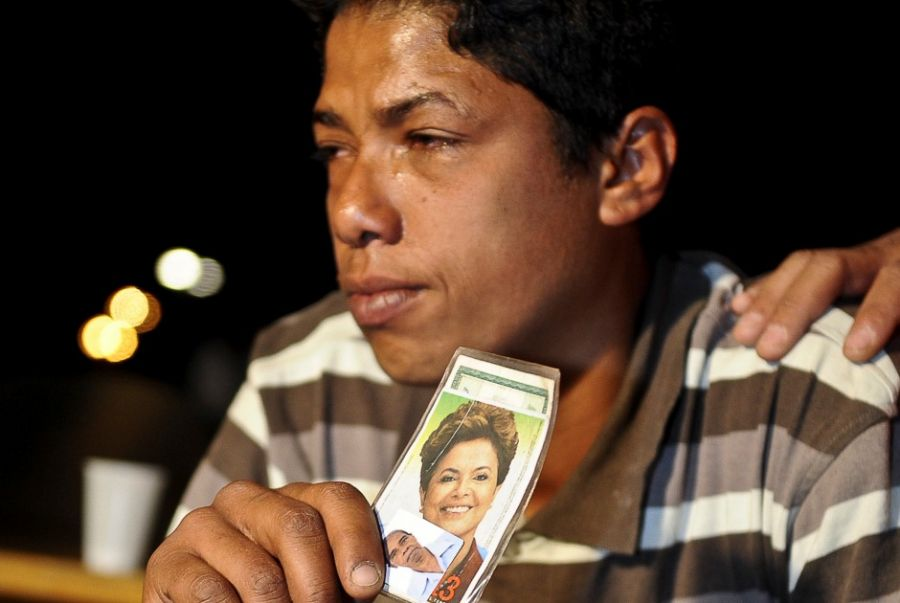 Apaixonada por Dilma, mulher tentou invadir Palácio do Planalto duas vezes / Fabio Rodrigues Pozzebom/ABr