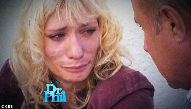 Modelo em entrevista ao Dr. Phil
