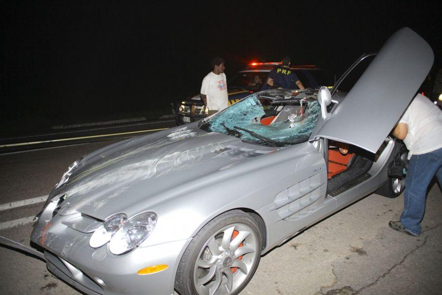 Acidente aconteceu na Rodovia Washington Luís em 17 de março de 2012 / Nicson Olivier/Folhapress
