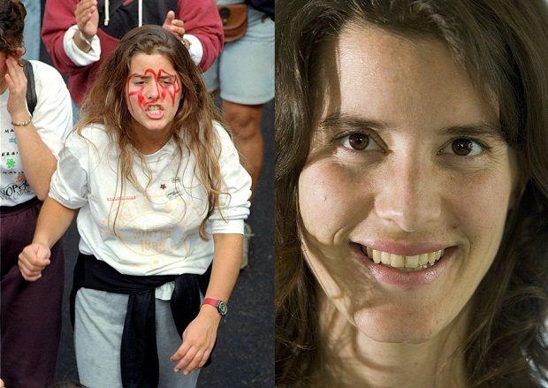 Cecília ficou conhecida depois que uma foto sua foi parar nos jornais do dia 12 de agosto de 1992. Foto dela em 2007