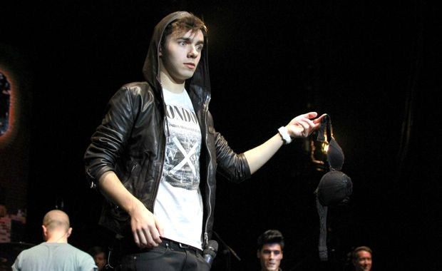 Nathan Sykes, da banda The Wanted