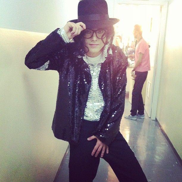 Pe Lanza se transforma em Michael Jackson F_130764