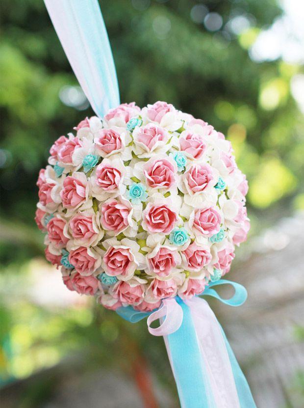 decoracao de casamento azul amarelo e rosa : decoracao de casamento azul amarelo e rosa:Decoração de casamento em azul e rosa claros