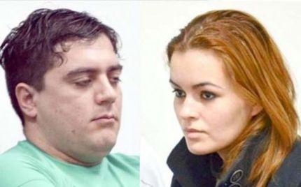 Victor Cingolani, acusado de assassinar Johana Casas, e Edith Casas (direita)