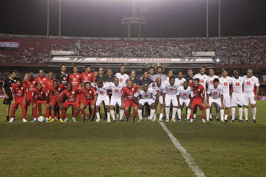 Jogo das Estrelas terminou empatado em 4 a 4 / Fotos: Daniel Worley/Folhapress
