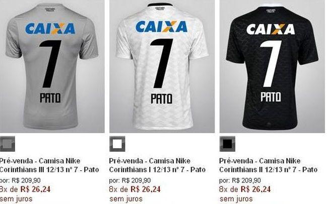 Portal Interativo  Corinthians inicia pré-venda da camisa 7 de ... 194f4b78c966d