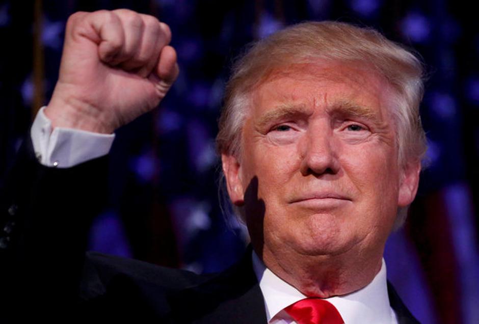 Donald Trump toma posse em Washington