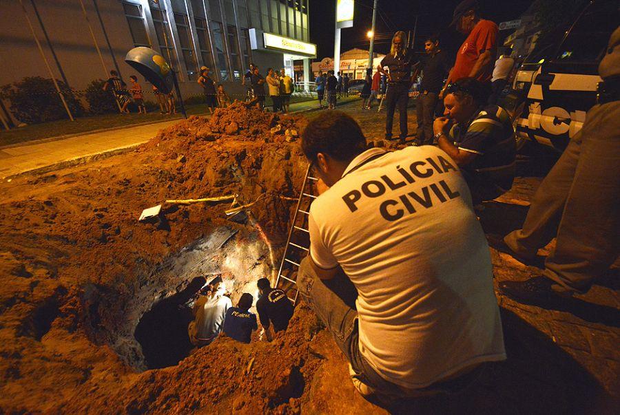 Túnel estava em fase avançada de escavação / Caco Konzen/Agência RBS/Folhapress