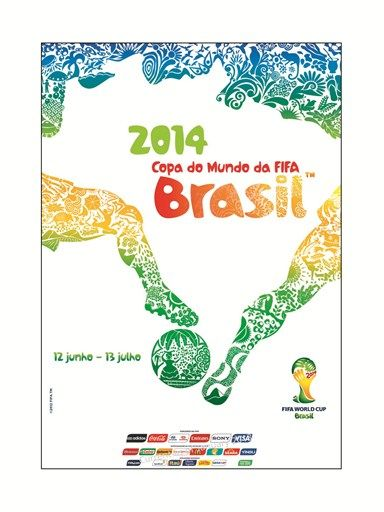 Pôster da Copa do Mundo 2014 / Divulgação/COL