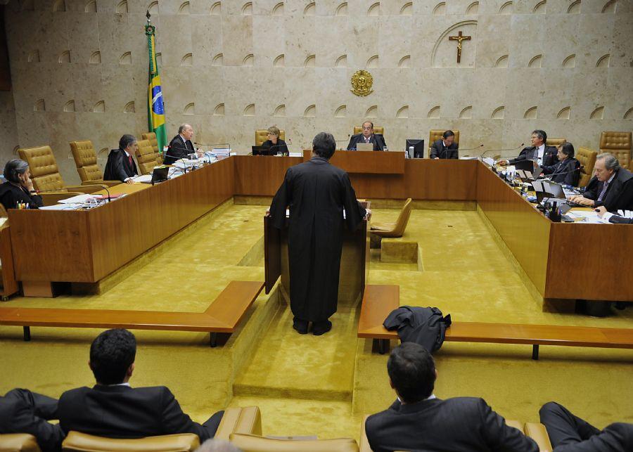 Tensão cresce entre os ministros do STF a cada votação, segundo Mônica Bergamo / Valter Campanato/ABr