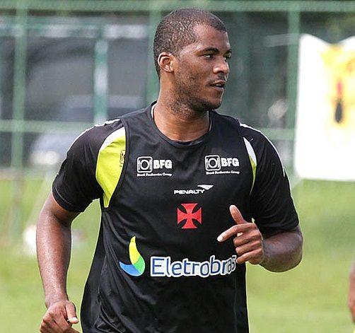 Renato Silva durante treino do Vasco / Marcelo Sadio/vasco.com.br