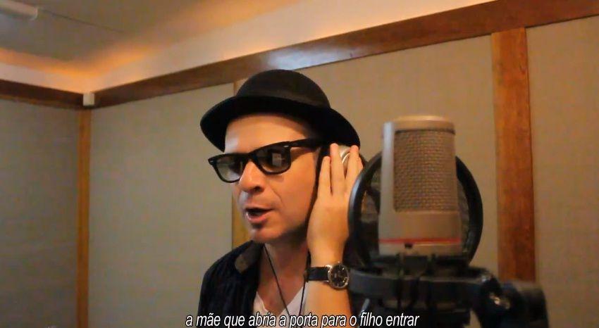 Fabrício Beck, vocalista da banda Vera Loca, foi um dos participantes da canção. / Reprodução