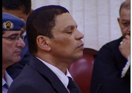 Mizael  foi condenado a 20 anos de prisão / Frame/TJSP