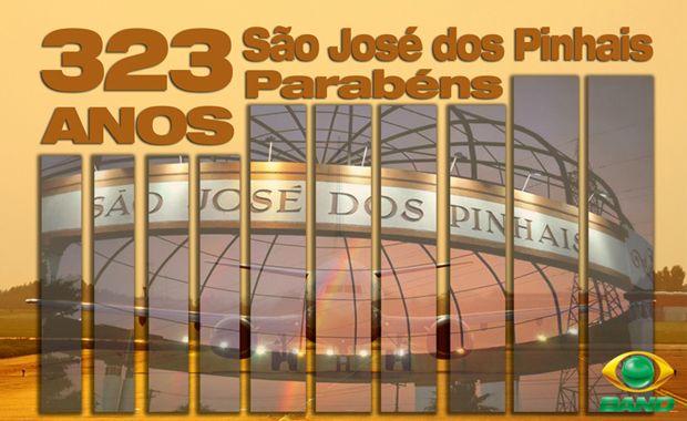 São José dos Pinhais comemora 323 anos