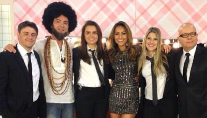 Sabrina Sato e o elenco do CQC / Divulgação/Instagram