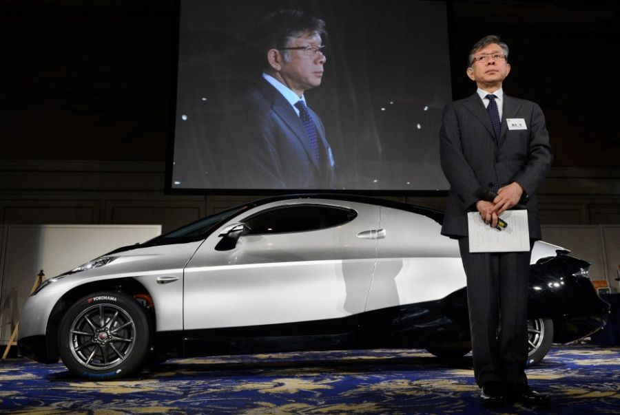 Carro elétrico foi lançado nesta quarta-feira no Japão / Toru Yamanaka/AFP