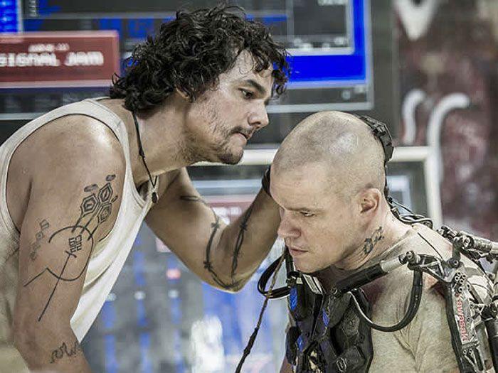 Wagner Moura e Matt Damon em cena do longa / Divulgação