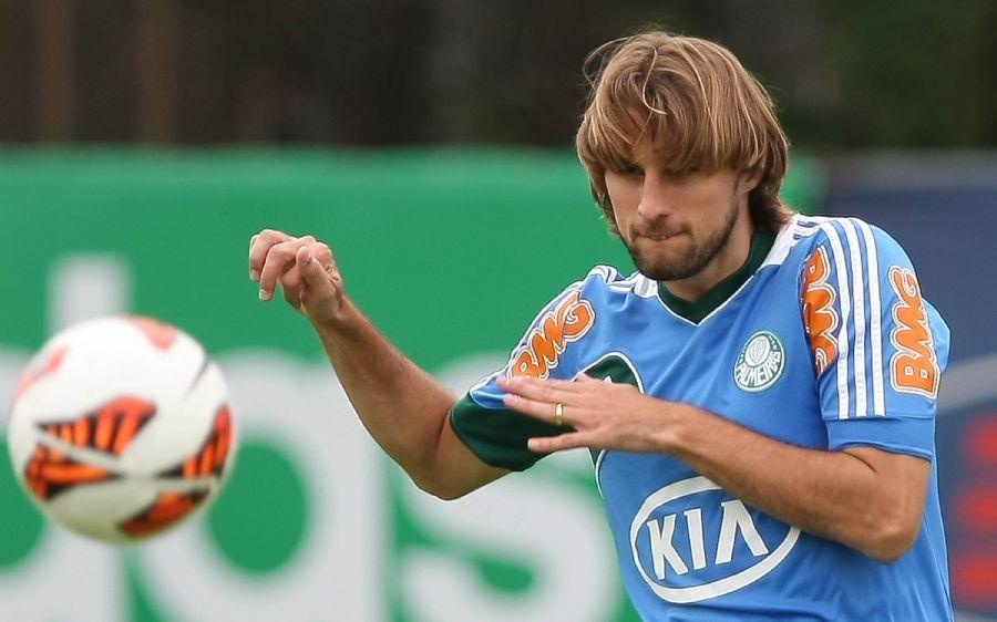 Henrique teve boa passagem em 2008 pelo Palmeiras e retornou em 2011 / Fotoarena/Folhapress
