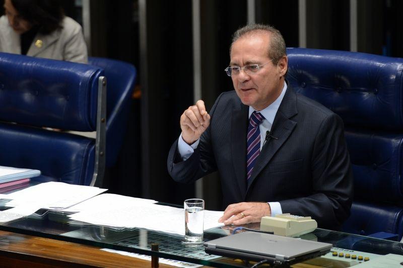 Renan Calheiros já foi presidente interino em 2006 / Fabio Rodrigues Pozzebom/ABr/Arquivo