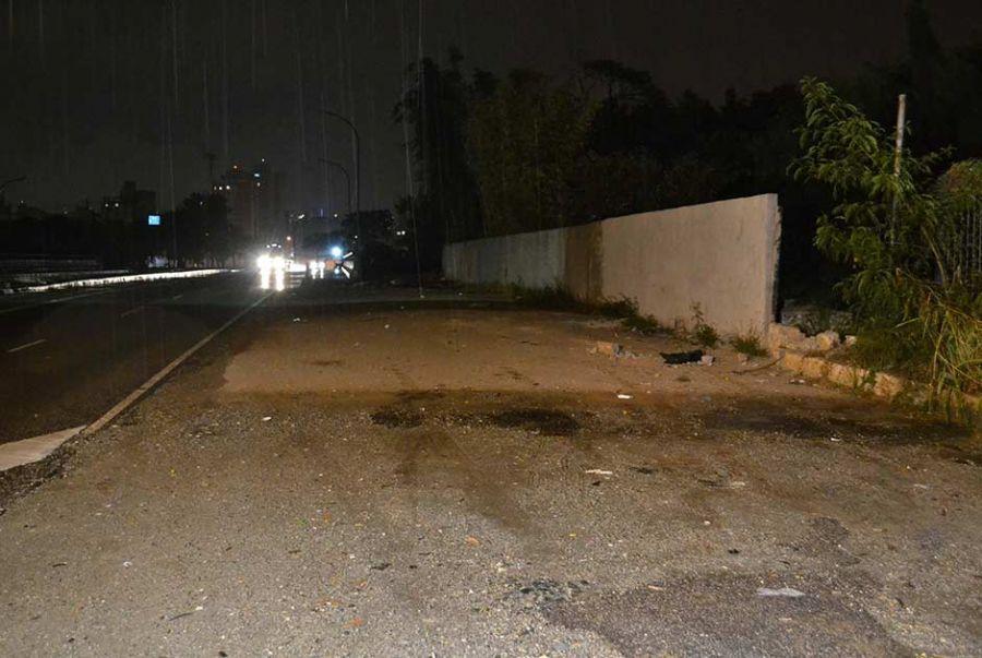 Local ermo na Marginal Tietê foi usado por estuprador para cometer o crime / Edu Silva/Futura Press/Folhapress
