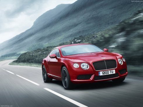 O luxo do Bentley Continental