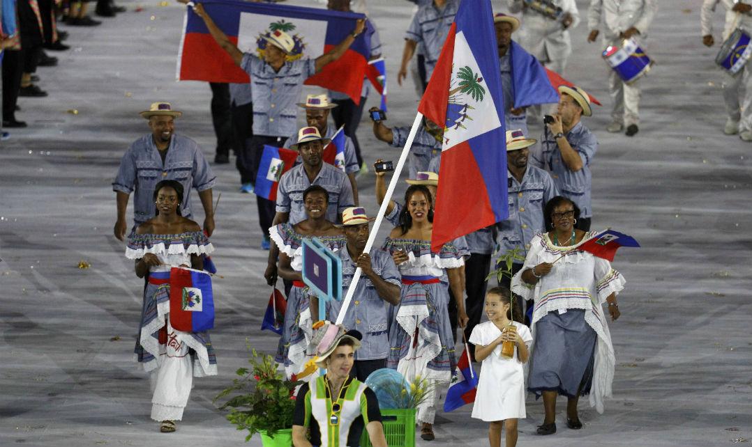 O Haiti também mostrou que classe não é sinônimo de terno