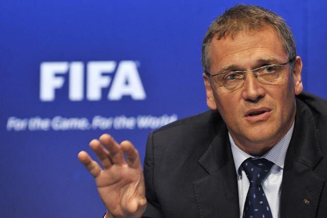 Valcke elogiou postura da presidente Dilma / Fabrice Coffrrini/AFP