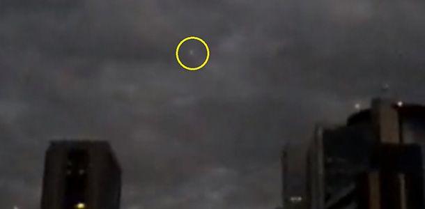 Reprodução mostra bola de fogo cruzando o céu durante manifestação